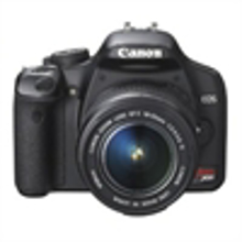 Picture of Canon Digital Rebel XSi 12.2 MP Digital SLR Camera Black